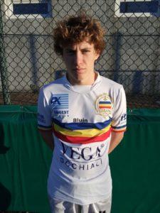 Riccardo Lerede, Attaccante Juniores Verbania Calcio Stagione 2018-2019