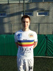 Alessandro Barbieri, Centrocampista Juniores Verbania Calcio Stagione 2018-2019