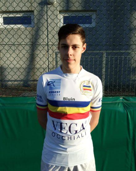 Alessio Bordini, Centrocampista Juniores Verbania Calcio Stagione 2018-2019