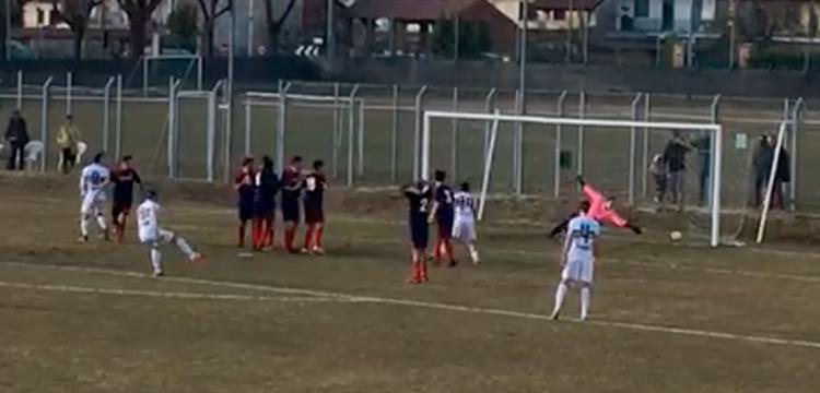 Verbania Calcio-Orizzonti UTD: il goal di Austoni