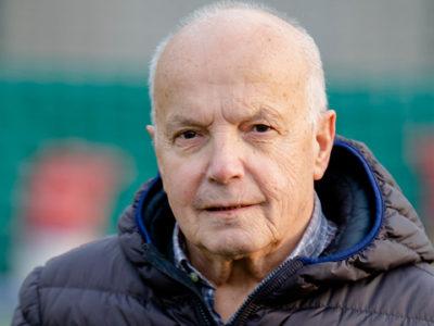 Il Presidente Onorario Luigi Pedretti, grande sostenitore Verbania Calcio