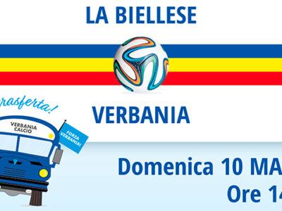 Verbania Calcio - La Biellese: locandina partita