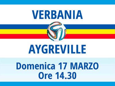 Verbania Calcio - Aygreiville domenica 17 marzo 2019 al Pedroli