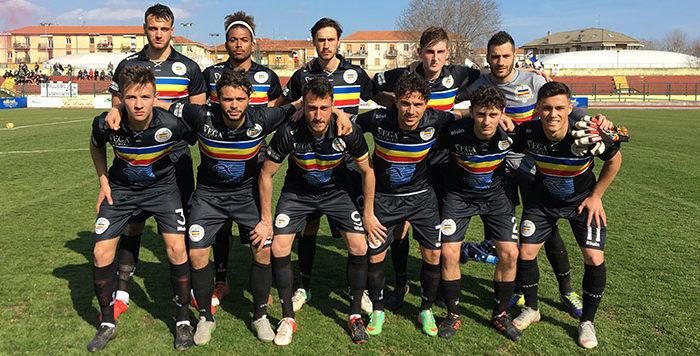 La Biellese - Verbania Calcio: la formazione scesa in campo