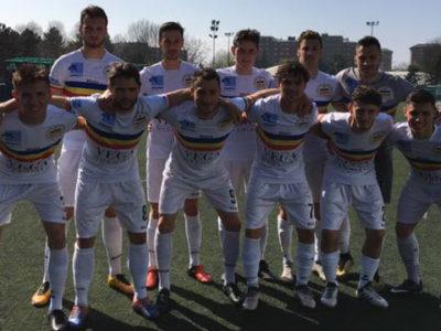 Verbania Calcio, la squadra scesa in campo contro il Lucento