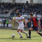 Verbania Calcio - Accademia Borgomanero - Artiglia si prepara per segnare il terzo gol