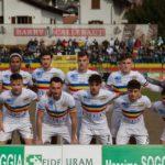 Verbania-Borgomanero: la squadra scesa in campo