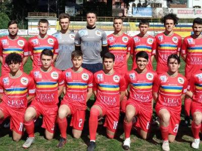 Verbania Calcio Juniores la squadra in campo contro il Fomarco