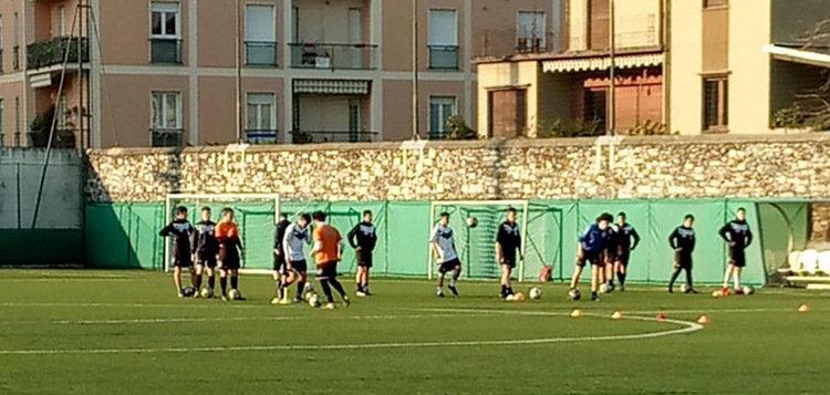 Verbania Calcio Juniores Piedimulera preparazione