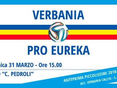 Verbania Calcio - Pro Eureka locandina 31 marzo