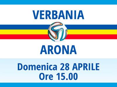 Verbania Calcio - Arona: domenica 28 aprile 2019