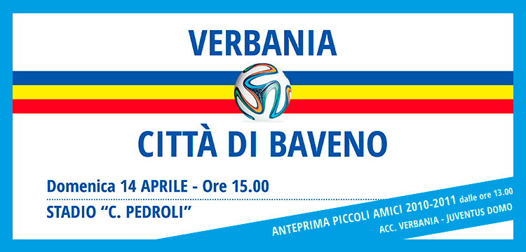 Verbania Calcio derby con Città di Baveno
