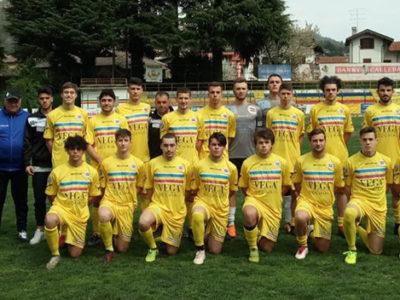 Verbania Calcio Juniores: la formazione scesa in campo a Veruno