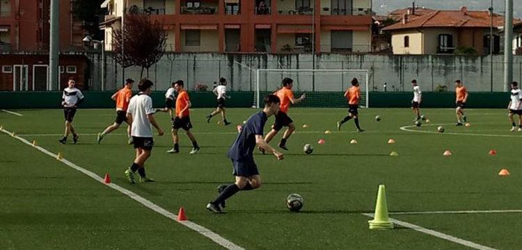 Verbania Calcio Juniores preparazione