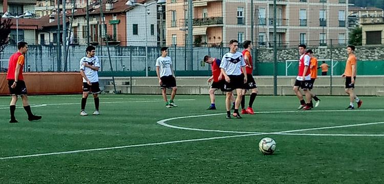 Verbania Calcio Juniores Vogogna Calcio preparazione