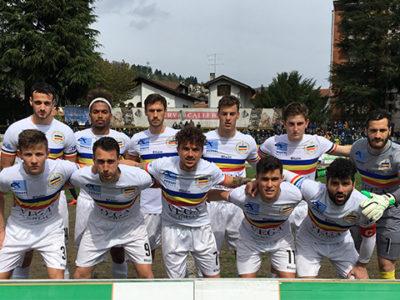 Verbania calcio - Città di Baveno: la squadra scesa in campo