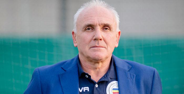 Pietro Fassoli Direttore Generale illustra il nuovo staff tecnico Verbania Calcio 2019-2020