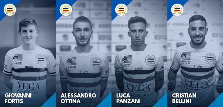 Fortis Bellini Panzani Ottina biancocerchiati per la Stagione in Serie D