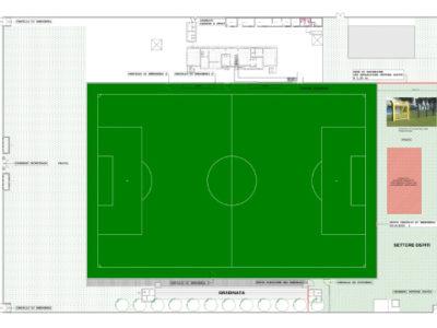 Il progetto di adeguamento dello Stadio Pedroli