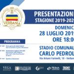 Presentazione nuova stagione Verbania l'invito con il programma di domenica 28 luglio