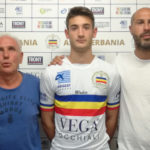Andrea Margaroli insieme al DG Fassoli ed al DS Serao