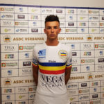 Federico Strola giovane portiere Verbania Calcio