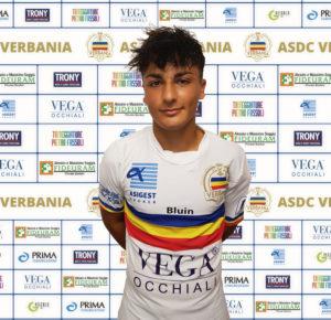 Alessandro Colombo attaccante Verbania Calcio per la Stagione 2019-2020 in Serie D