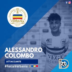 Alessandro Colombo Attaccante Verbania Calcio Stagione 2019-2020 Serie D