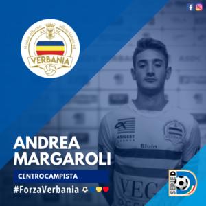 Andrea Margaroli Centrocampista Verbania Calcio Stagione 2019-2020 Serie D