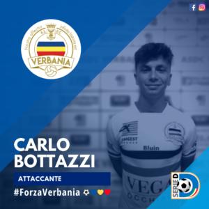 Carlo Bottazzi Trentani Attaccante Verbania Calcio Stagione 2019-2020 Serie D