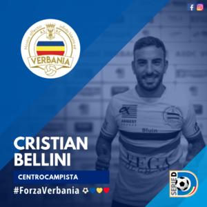 Cristian Bellini Centrocampista Verbania Calcio Stagione 2019-2020 Serie D