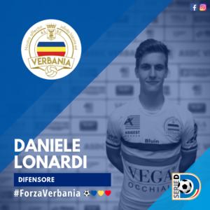 Daniele Lonardi Difensore Verbania Calcio Stagione 2019-2020 Serie D