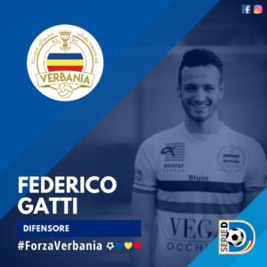 Federico Gatti Difensore Verbania Calcio Stagione 2019-2020 Serie D