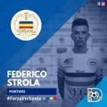 Federico Russo Portiere Verbania Calcio Stagione 2019-2020 Serie D