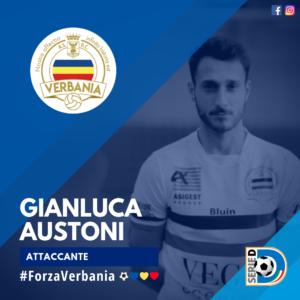Gianluca Austoni Attaccante Verbania Calcio Stagione 2019-2020 Serie D
