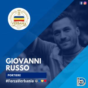 Giovanni Russo Portiere Verbania Calcio Stagione 2019-2020 Serie D