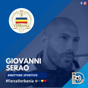 Giovanni Serao Direttore Sportivo Verbania Calcio Stagione 2019-2020 Serie D