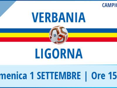 Verbania - Ligorna la locandina della prima partita di Serie D 2019-2020