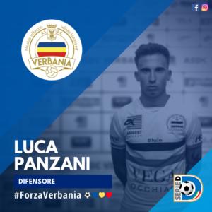 Luca Panzani Difensore Verbania Calcio Stagione 2019-2020 Serie D