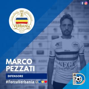Marco Pezzati Difensore Verbania Calcio Stagione 2019-2020 Serie D