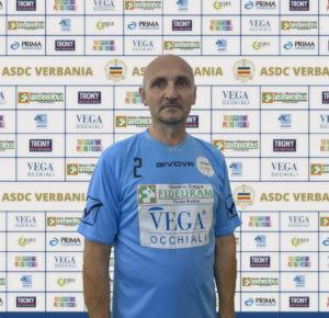 Mauro Bernasconi Massaggiatore e Massoterapista Verbania Calcio per la Stagione 2019-2020 in Serie D