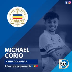 Michael Corio Centrocampista Verbania Calcio Stagione 2019-2020 Serie D