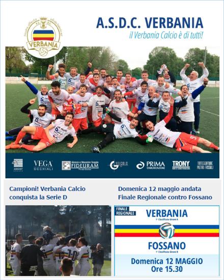 Newsletter 06 Verbania Calcio del Campionato di Eccellenza: Verbania Campione conquista la Serie D
