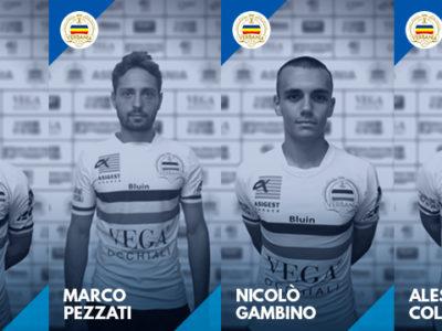 Tra i nuovi innesti Verbania Calcio per la Serie D i difensori Lonardi, Pezzati e gli attaccanti Gambino e Colombo
