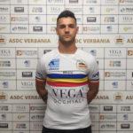 Roberto Colombo, attaccante del Verbania Calcio per la Stagione 2019-2020 in Serie D