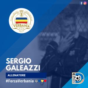 Sergio Galeazzi Allenatore Verbania Calcio Stagione 2019-2020 Serie D