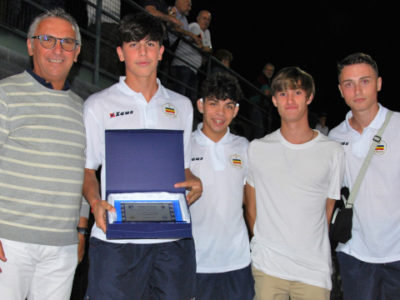 La Juniores Nazionale Verbania terza classificata al Memorial Costa