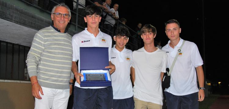 La Juniores Nazionale Verbania terza classificata al Memorial Costa