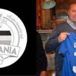 Roberto Botta Presidente Fossano Calcio con Sara Gama