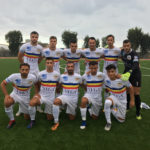 La formazione biancocerchiata scesa in campo per Savona - Verbania nella seconda giornata di Serie D